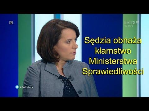 Sędzia masakruje w-ce ministra sprawiedliwości i Wildsteina!