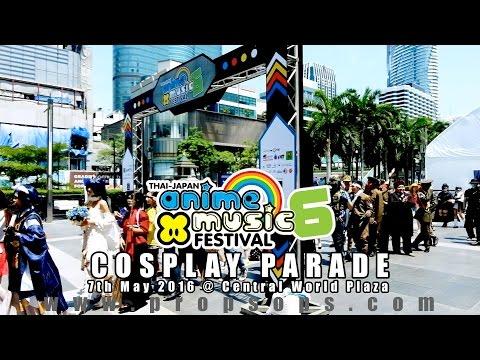 Cosplay Parade Day 1 | Thai-Japan Anime x Music Festival #6