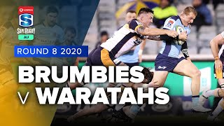 Brumbies v Waratahs Rd.8 2020 Super rugby AU video highlights
