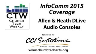The new DLive consoles represent the first in the joint development process between Digico and A-H. These new live consoles have some great features as well as an incredible price point. To learn more, visit the A-H DLive website: http://dlive.allen-heath.com/For more InfoComm coverage, visit http://churchtecharts.org/?tag=InfoComm+2015
