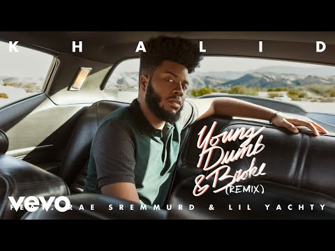 Video Khalid - Young Dumb & Broke (Remix) feat. Rae Sremmurd & Lil Yachty (Audio) download in MP3, 3GP, MP4, WEBM, AVI, FLV January 2017