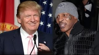 Mike Tyson On Supporting Trump