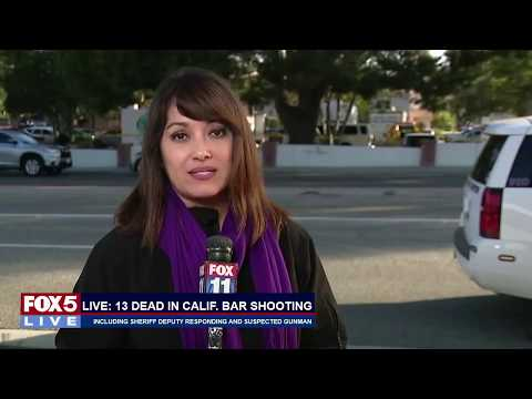 FOX 5 LIVE (11/8): 12 dead, + suspected gunman, at SoCal bar shooting; hero Sgt. Ron Helus honored