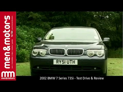 2002 BMW 7 Series 735i – Test Drive & Review