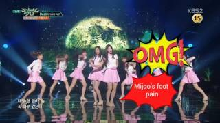 Download Lagu 160603 Lovelyz's Mijoo accident Mp3