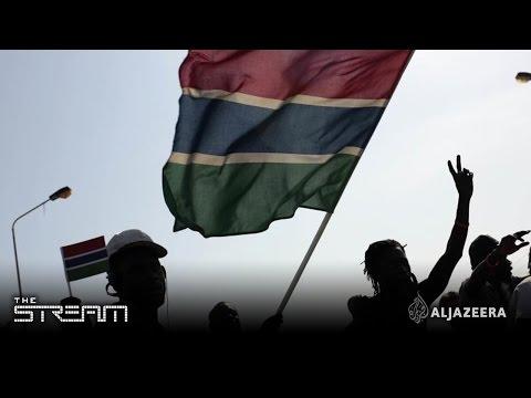 Gambia on edge - The Stream (видео)