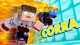 Minecraft: FUJA DA LAVA PRA NAO MORRER   Afreim