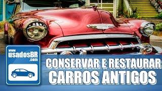 Quando se tem na garagem um modelo de carro clássico, a manutenção passa a ter um novo sentido e conservação e restauração tornam-se palavras chaves. Confira na matéria como manter seu carro antigo em dia!INSCREVA-SE: http://goo.gl/vFsqOYREALIZAÇÃO:UsadosBRAPRESENTAÇÃO:Yuri RodriguesPRODUÇÃO:Layane PalharesIMAGENS, EDIÇÃO E FINALIZAÇÃO:Vanessa GoveiaSITE:www.usadosbr.comREDES SOCIAIS:Facebook: http://www.facebook.com/usadosbrTwitter: http://www.twitter.com/usadosbrInstagram: http://www.instagram.com/usadosbr