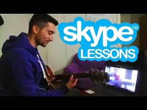 Μάθημα Κιθάρας Μέσω Skype με την Φωτεινή στην Αμφιλοχία ! ! !