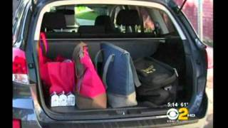 CBS News - Subaru Shares The Love With Meals On Wheels West Clients