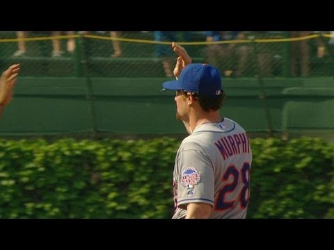 Video: NYM@CHC: Parnell strikes out Navarro to earn the save