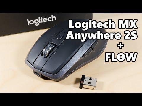 Review - Logitech MX Anywhere 2S & Logitech FLOW!
