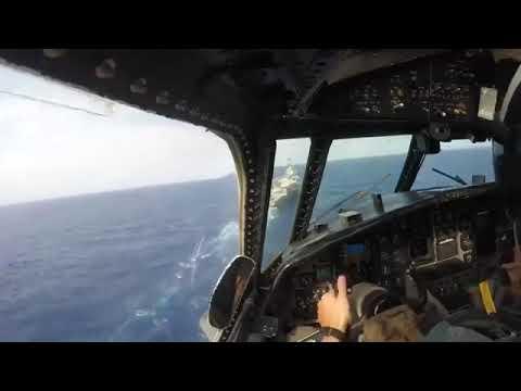 Northrop Grumman E-2 Hawkeye Landing...
