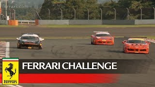 The fourth round of the 2017 Asia Pacific Ferrari Challenge came to a close today under warm and sunny conditions with track temperatures at a high of 40 degree Celsius at Fuji Speedway. The 35 drivers in the field once again showcased pure driving exhilaration during Race 2.Subscribe ferrariworld: http://www.youtube.com/subscription_center?add_user=ferrariworldFollow us on Facebook http://www.facebook.com/Ferrari and Twitter http://twitter.com/ferrariFerrari Since 1947http://www.ferrari.com