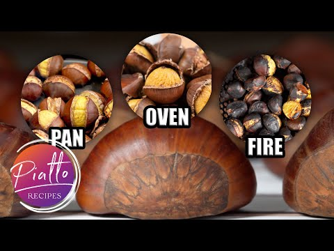 How to ROAST CHESTNUTS at Home in an Oven, in a Pan and on an Open Fire!