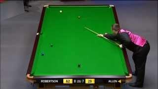 Snooker 2014 W C Robertson V Allen (6)