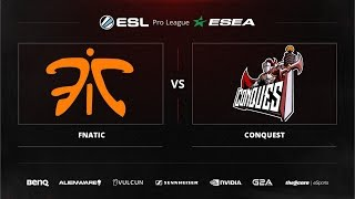 Conquest vs fnatic, game 1