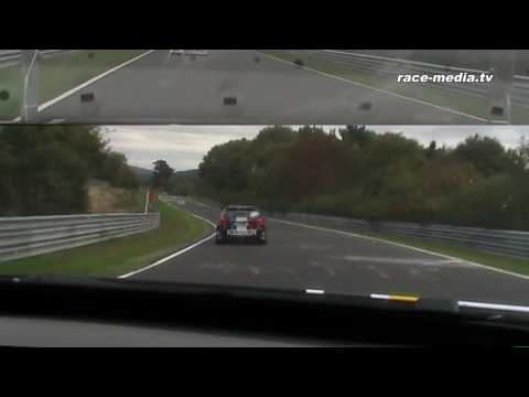 VLN 8. Lauf 2009 Schubert Motorsport BMW 320d Onboard Part 2 (видео)