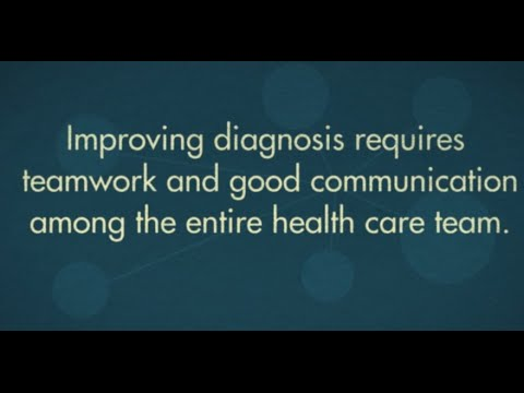 Improving Diagnosis in Health Care