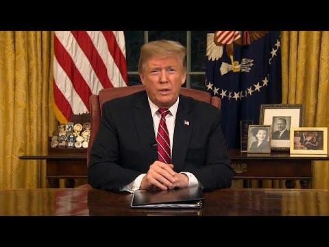 Ντ. Τραμπ: Τείχος για να τερματιστέι η κρίση στα σύνορα