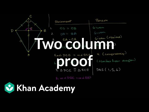 Proof the diagonals of a kite are perpendicular video khan academy ccuart Images