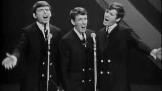 A performance by the Bachelors, part of a skit they did in an early 1965