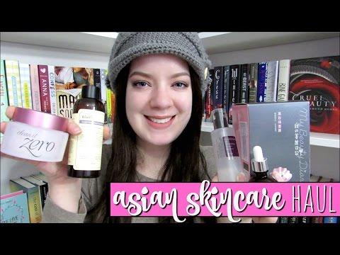 ASIAN SKINCARE HAUL + mini reviews | Mizon, Tony Moly, COSRX, & more!
