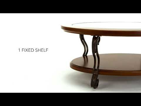Nestor T517-0 Oval Cocktail Table