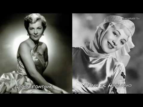 olivia de havilland - Olivia and Joan, Here together, as two sisters and two queens of Golden Hollywood. No more misunderstandings, competition and sadness.