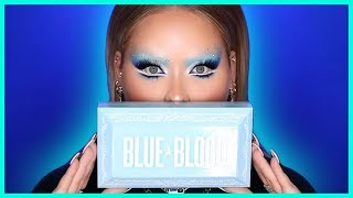 Trying The BLUE BLOOD Collection by Jeffree Star! by Nikkie Tutorials