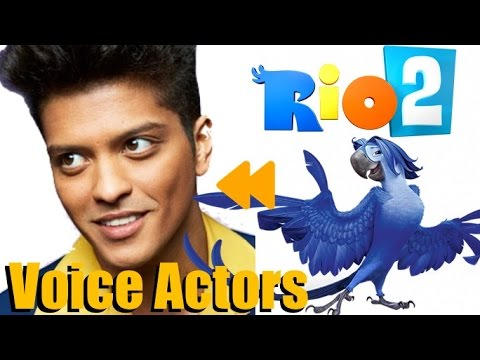 """Rio2"" (2014) Voice Actors And Characters"