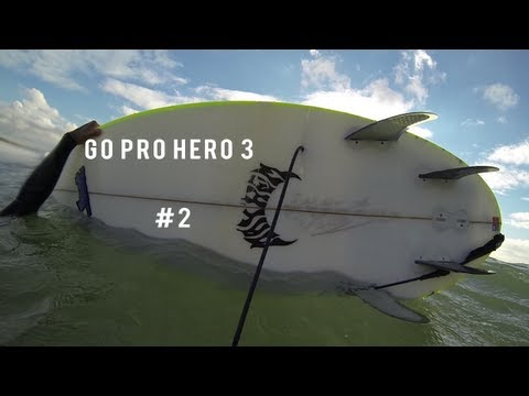 Go Pro Hero 3 #2 | Weirdest Way To Break A Surfboard?