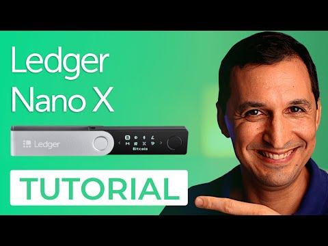 ⭕️LEDGER NANO X | Tutorial Completo desde cero | Setup, Apps, enviar y recibir, Firmware y más! 2021