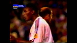 EM 2000: Die letzten Minuten im Halbfinale zwischen Portugal und Frankreich