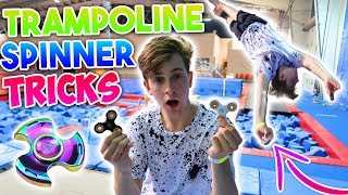SUPER TRAMPOLINE FLIPS WITH FIDGET SPINNERS! Make sure to subscribe for more awesome videos!Mixed both big trends, trampoline and spinners. Did some insane flips and tricks with the spinners still going!SoFlo: https://www.youtube.com/soflomovementMy Social MediaInstagram: https://www.instagram.com/nicktweston/Twitter: https://twitter.com/nicktwestonSnapChat: nicktwestonNick Weston
