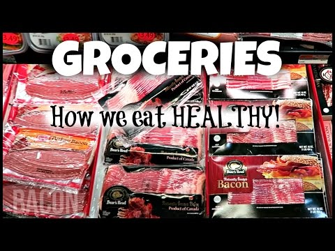 Grocery Haul - What We Eat To Stay Healthy! (the Nyc Couple)