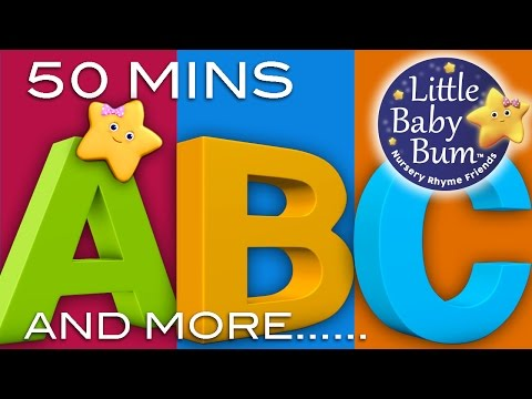 Abc - ABC Songs and More Nursery Rhymes! | 30 Videos | 51 Minutes Long | 3D Animations in HD This is a HUGE collection of high-quality nursery rhymes videos: 0:04 ...