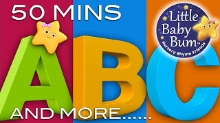 ABC Song | ABC Songs and More Nursery Rhymes! | 51 Minutes! | 3D Animations in HD from LittleBabyBum