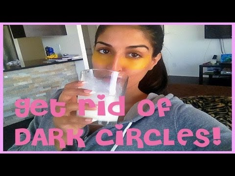 DIY: Get Rid of Dark Circles and Wrinkles Under Eyes Naturally