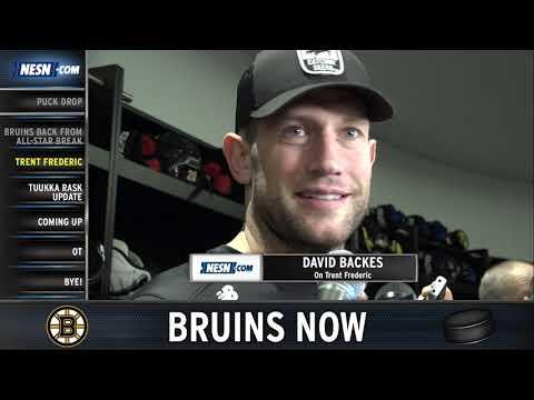 Video: Bruins Now: Tuukka Rask Update, Trent Frederic's Debut