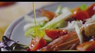 Insalata di Scampi, Gamberi, Finocchi, Mela Verde e pepe rosa