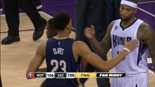 Anthony Davis vs DeMarcus Cousins Full Highlights 2014.11.18 Pelicans at Kings - SIck Big Man Due!