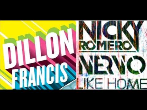 Nervo & Nicky Romero - Like Home (Dillon Francis Remix) [Proper BPM]