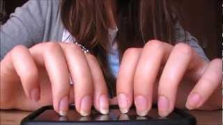 ASMR ~ Tapping&scratching ~ (Long Nails)