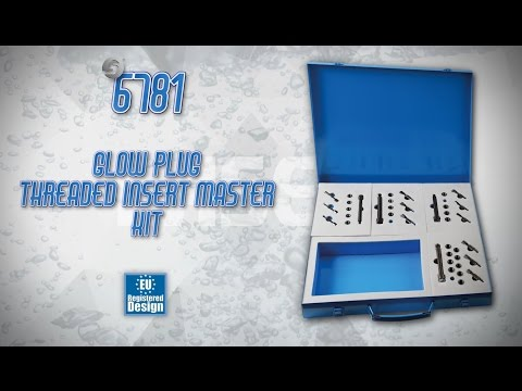 Glow Plug Threaded Insert Kits