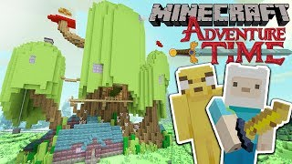 AWESOME ADVENTURE TIME WORLD!! - MINECRAFT XBOX