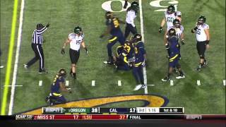Colt Lyerla vs Cal & Arizona (2012)