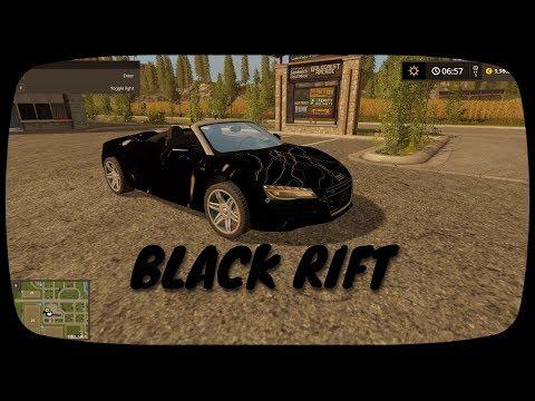 Audi R8 Spyder Black Rift v1.0