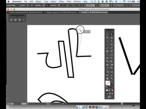 Straight To Curved Lines In Illustrator
