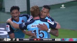 Sharks v Waratahs Rd.3 Super Rugby Video Highlights 2017